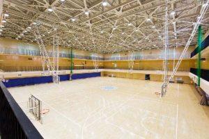 バスケットボール場(中央体育館)01