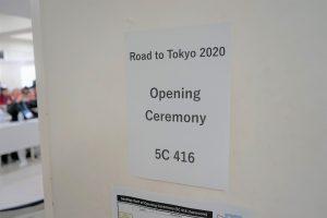 開講式の会場である本学の講義室に、参加者全員が集まりました